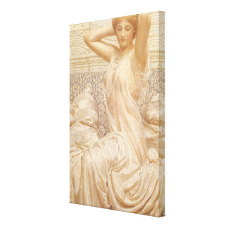 Silver by Albert Joseph Moore, Victorian Fine Art Gallery Wrapped Canvas