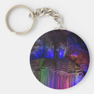 Silver Cave (Guilin, China) Button Keychain
