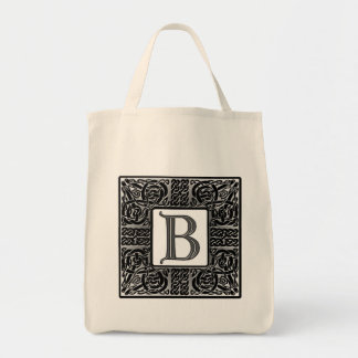 "Silver Celtic ""B"" Monogram"