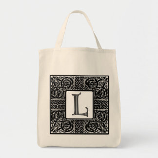 "Silver Celtic ""L"" Monogram"