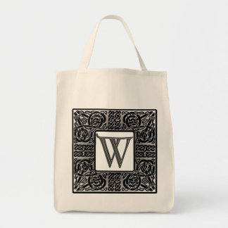 "Silver Celtic ""W"" Monogram"