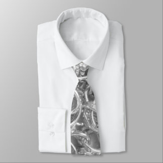 Silver Chain Links Photo 0284 Tie