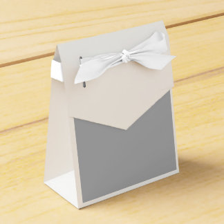 Silver Chalice Gray Wedding Favour Box