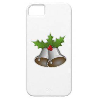 Silver Christmas Bells iPhone 5 Cases