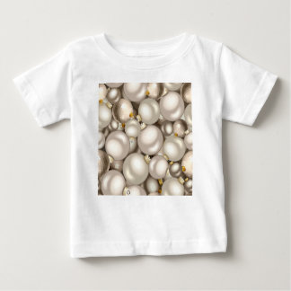 silver christmas ornaments baby T-Shirt
