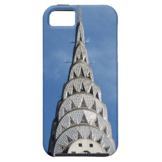 Silver Chrysler Building iPhone 5 Case