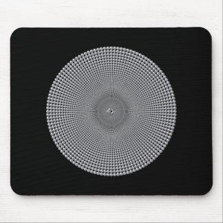 Silver Circles Mousepad