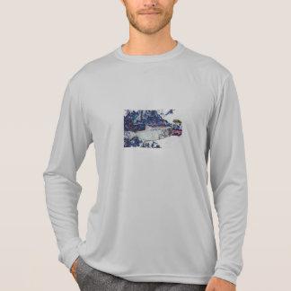 Silver Coho Salmon Fly Fishing T-Shirt