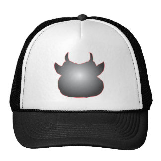 SILVER COW HAT