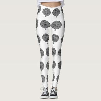 Silver Cross Custom Leggings