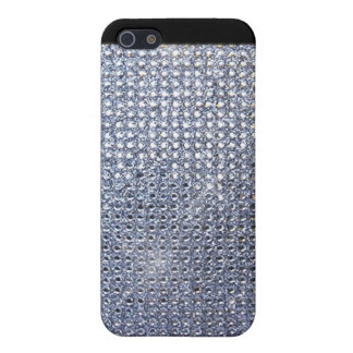 Silver Crystal iPhone 5/5S Cover