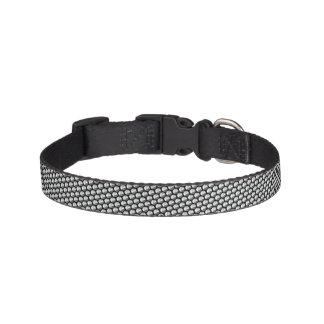 Silver crystal sequins pet collar