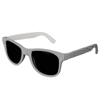 Silver crystal sequins sunglasses