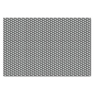 Silver crystal sequins tissue paper