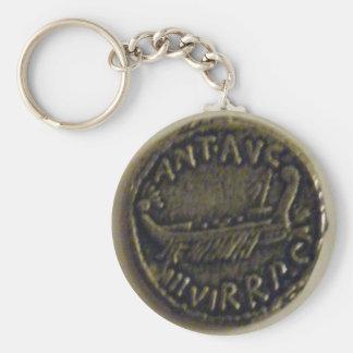 Silver Denarius of Marc Antony Photo Keychain