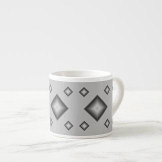 Silver Diamonds Espresso Mug by Janz