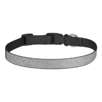SILVER DOG COLLER PET COLLAR