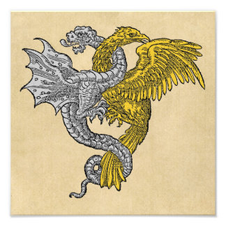 Silver Dragon and Golden Eagle Photo