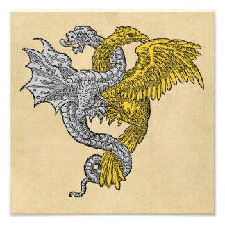 Silver Dragon and Golden Eagle Photo