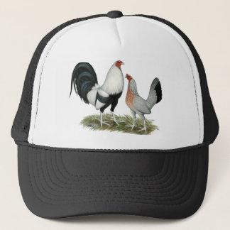 Silver Duckwing Gamefowl Trucker Hat