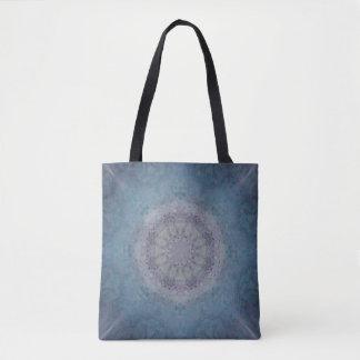 Silver Falls Mandala Tote Bag