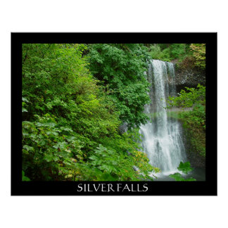 SILVER FALLS POSTER