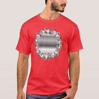 Silver Fancy Mirror T-Shirt