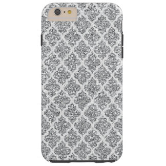Silver Faux Glitter iPhone 6 tough Plus case