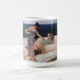 Silver Favorites by Lawrence Alma-Tadema Basic White Mug