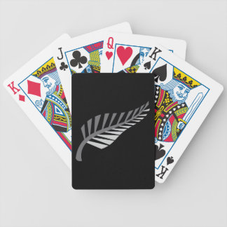 Silver Fern Awesome New Zealand image Poker Deck
