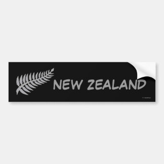 SILVER FERN Bumper Sticker