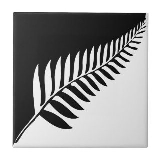 Silver Fern of New Zealand Ceramic Tile