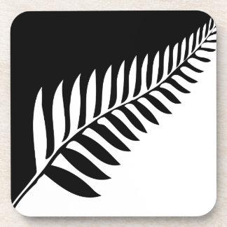 Silver Fern of New Zealand Coaster
