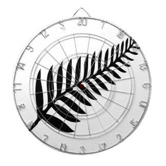 Silver Fern of New Zealand Dartboard