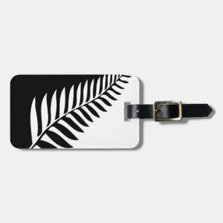 Silver Fern of New Zealand Luggage Tag