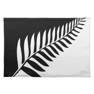 Silver Fern of New Zealand Placemat