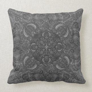 Silver Fleury Cushion