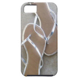 Silver Flip Flop Phone Case iPhone 5 Covers