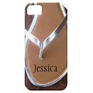 Silver Flip Flop Phone Case iPhone 5 Cover