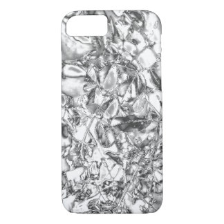 Silver foil design slim lightweight iPhone 7 case