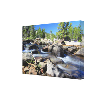 Silver Fork of the American River, Canvas