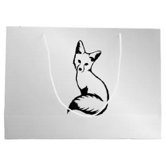 Silver Fox Large Gift Bag