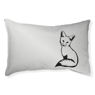 Silver Fox Pet Bed