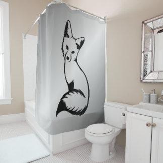 Silver Fox Shower Curtain