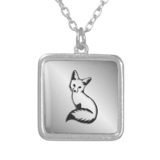 Silver Fox Silver Plated Necklace