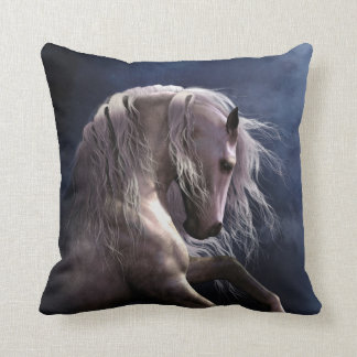Silver Ghost Designer Pillow