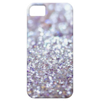 Silver Glitter Barely There iPhone 5 Case