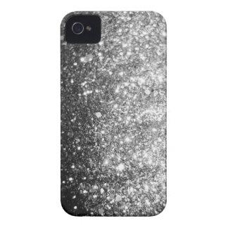 Silver Glitter Blackberry Bold Christmas Case