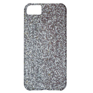 Silver Glitter iPhone 5C Covers