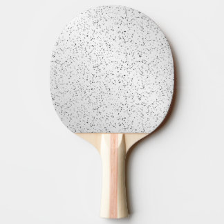 Silver Glitter Look Ping Pong Paddle